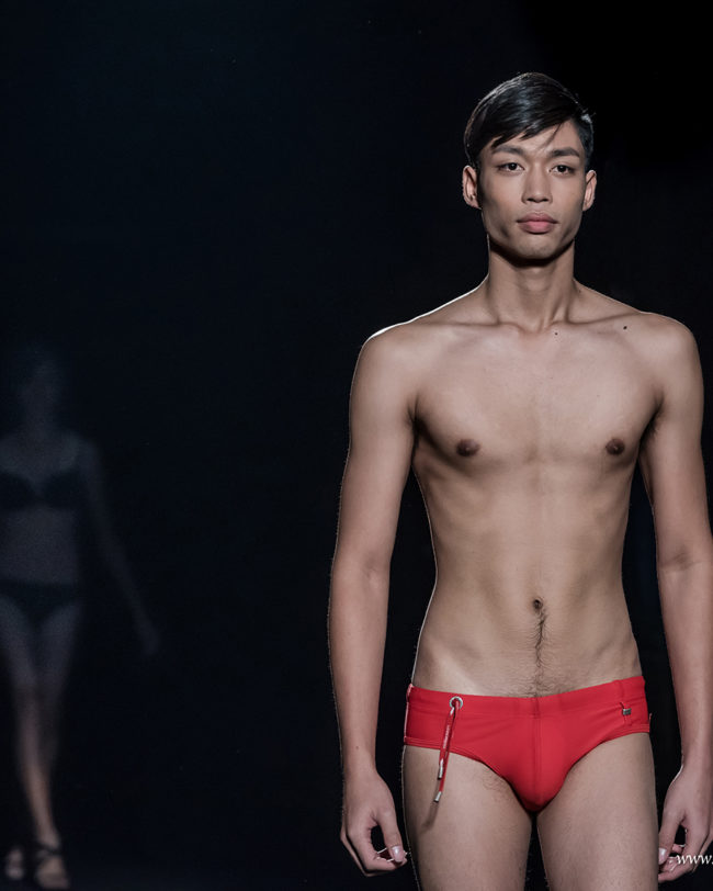 Rutt model representing A1 Models Thailand agency at Fresh Faces World Final - Barcelona Fashion Week