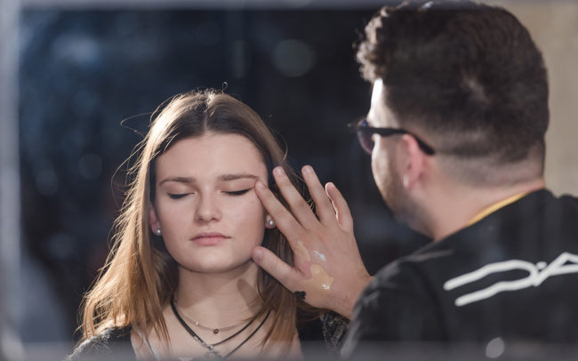 Behind the scenes Fresh Faces World Final at Barcelona Fashion Week