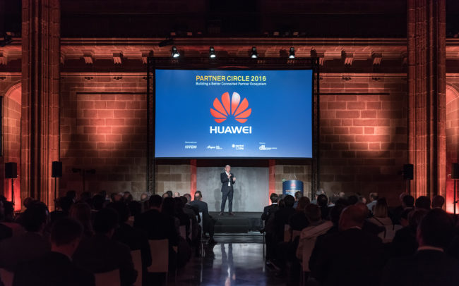 Huawei event at Casa Llotja de Mar
